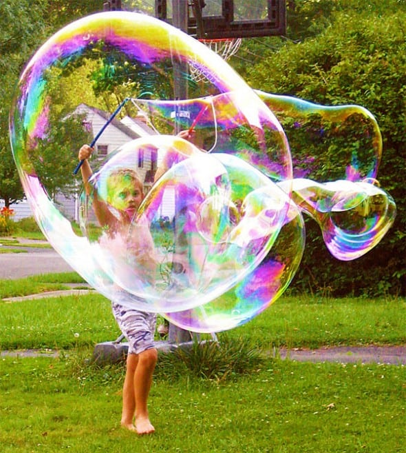 Big bubbles and magical memories, just add water.