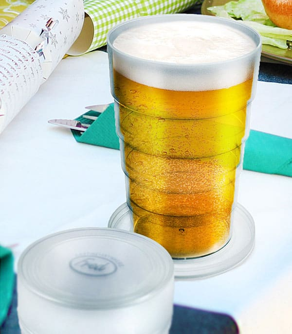 Pocket to pint in seconds!