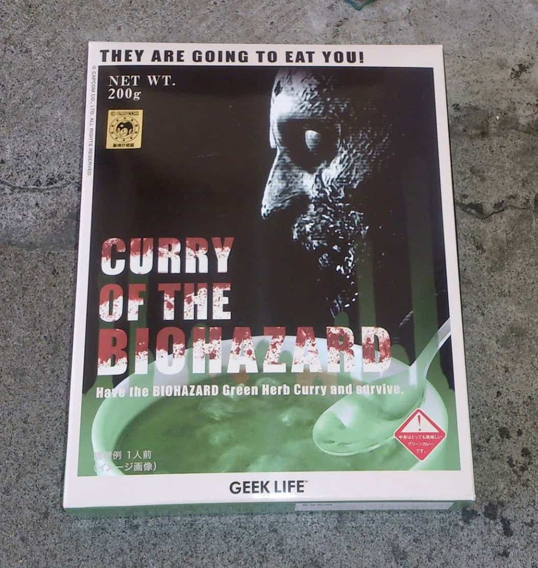 Geek Life Curry of the Biohazard Cool Japanese Product
