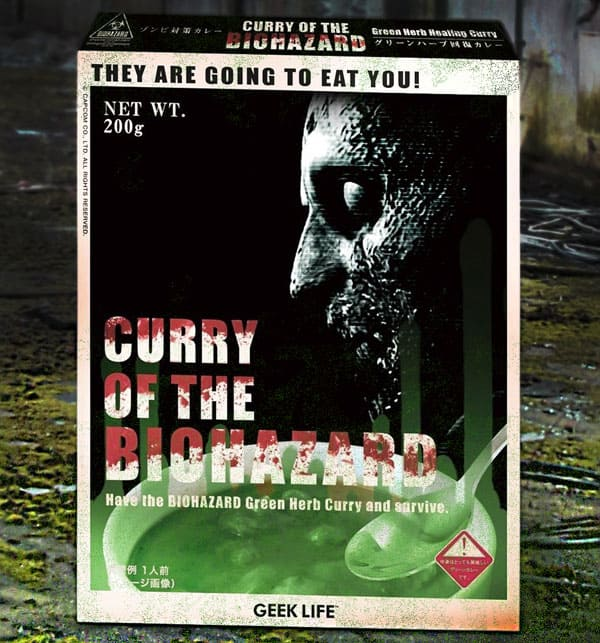 Eat your curry before the undead eats you.