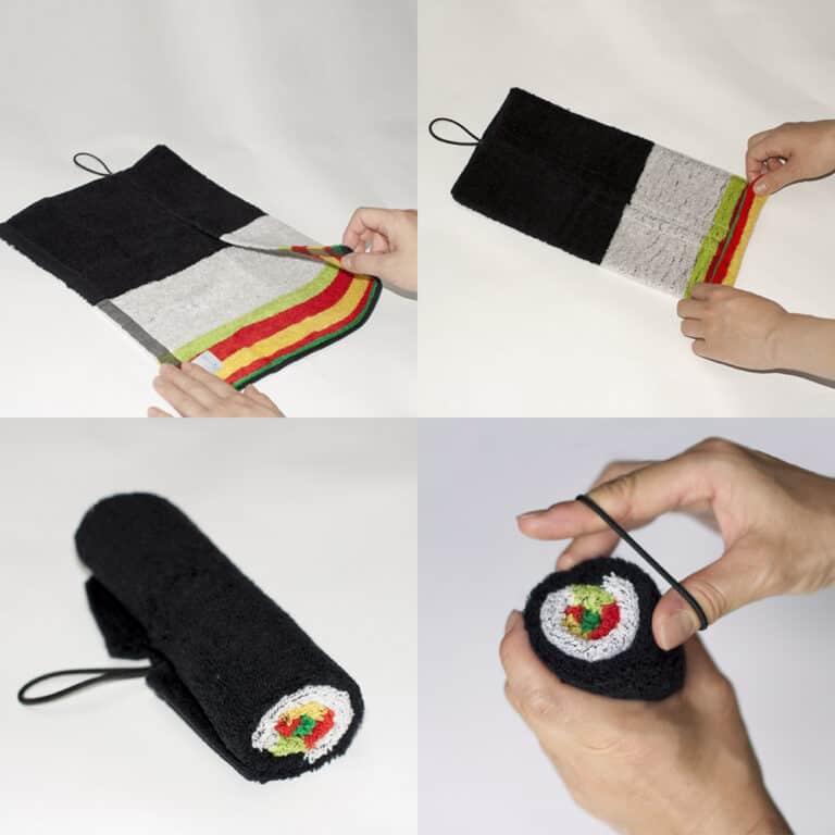 Geodesign Norimaki Sushi Roll Towel How to Properly Tell