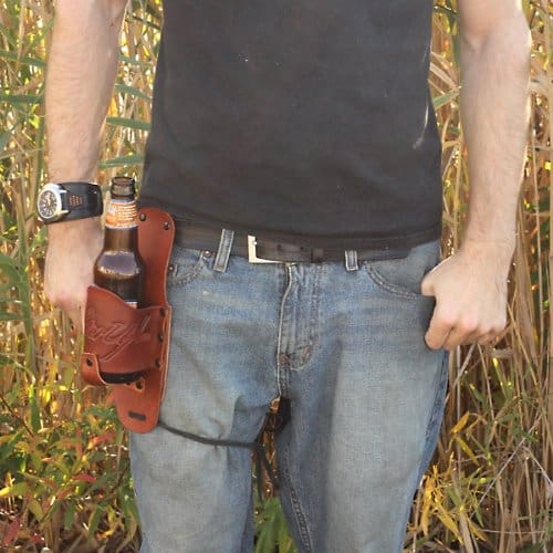 Holster Up Brown Leather Holster Buy Dad Cool Gift