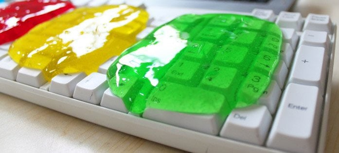 Keyboard Cleaner Cleaning Gel Creative Way of Removing Dust
