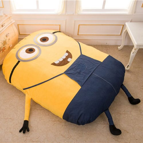 Minion Sleeping Bed - NoveltyStreet
