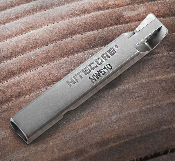 NiteCore NWS10 Survival Whistle Bug out Bag Essential