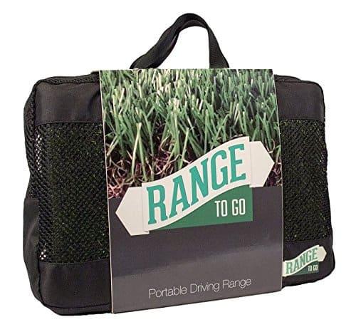 Range To Go Portable Practice Range Black Golf Carry Bag