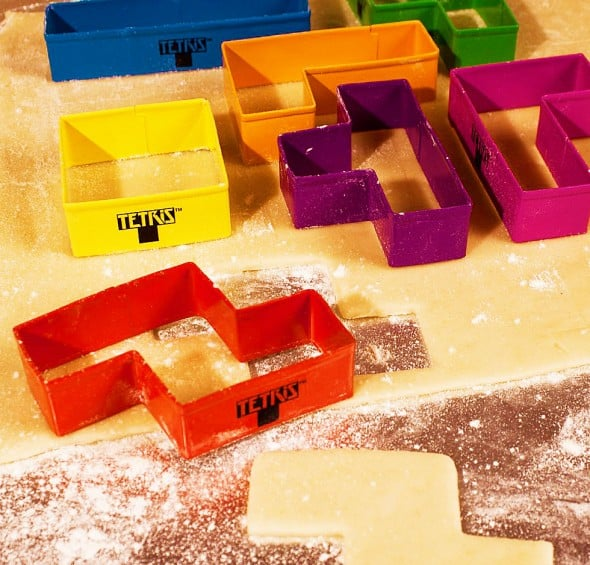 Tetris Cookie Cutters Fun in the Kitchen