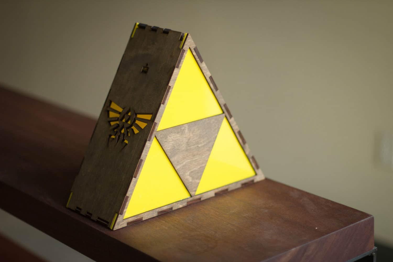 The Back Pack Shoppe Zelda Triforce Lamp Boyfriend Gift Idea