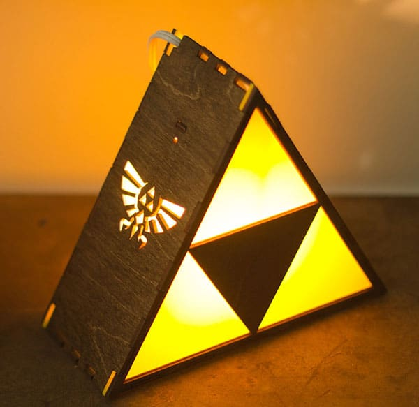 Witness the Triforce glow!