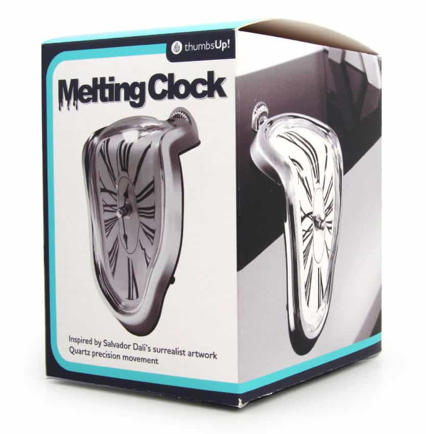 Thumbs Up! Melting Clock Box