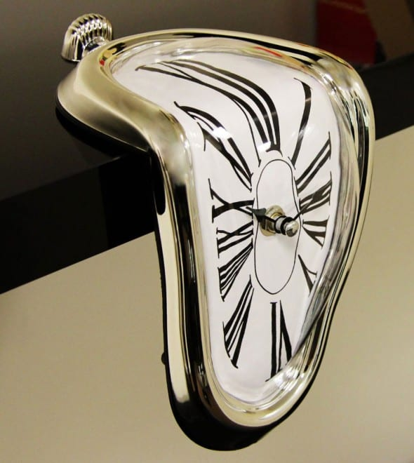 Thumbs-Up!-Melting-Clock-Dali-Surrealism-Timepiece