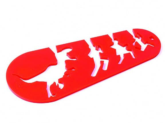 doiy I Could Eat a T-Rex Spaghetti Noodle Pasta Measurer Cool Kitcheware