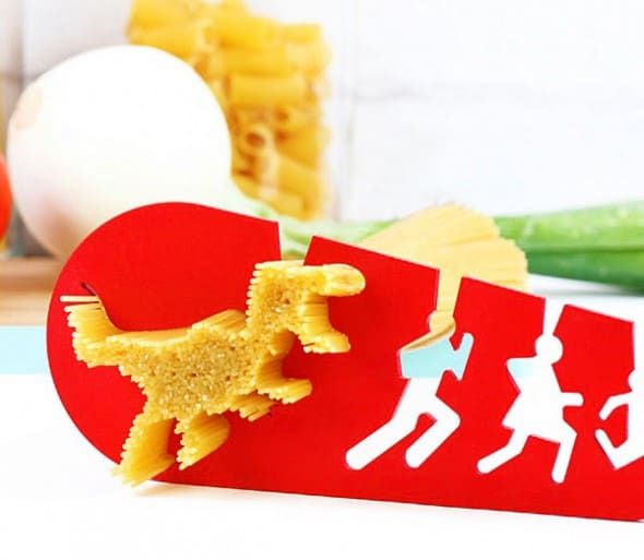 doiy I Could Eat a T-Rex Spaghetti Noodle Pasta Measurer Funny Kitchen Gadget