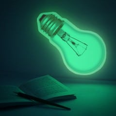 Light up the wall with your brilliant idea!