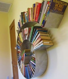 Make your books go round and round.