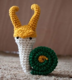 Loki Snail will cheer you up.