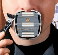 Perfectly shaved goatee every time!