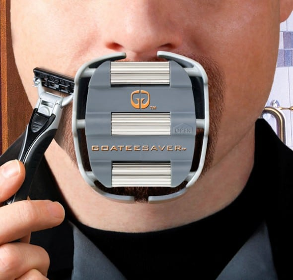 GoateeSaver Shaving Template Cool Gift for Dudes