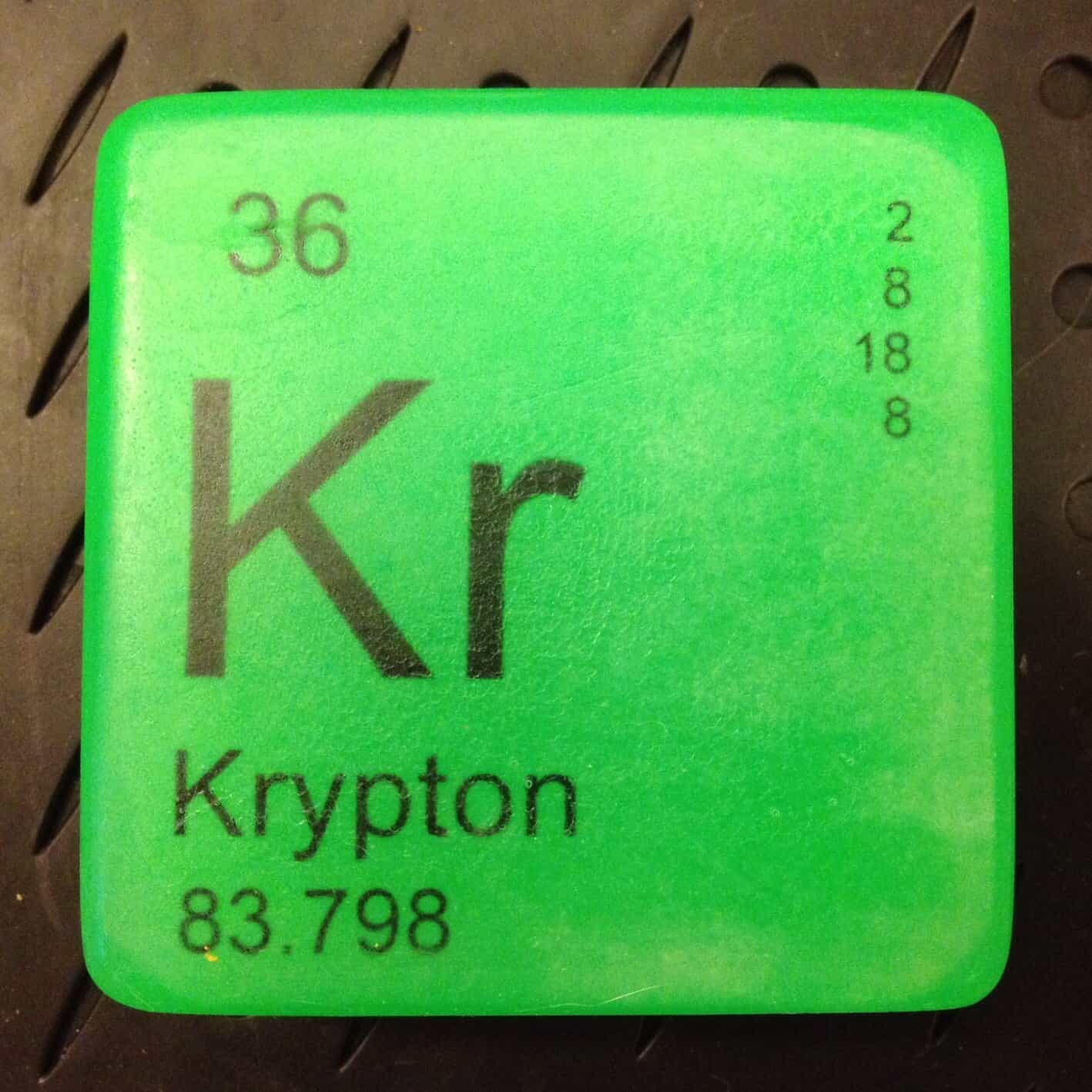 Just Bubbly It is Elementary Periodic Table Soap Krypton