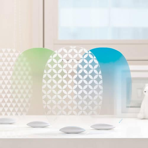 Nagae Naft Solano Self-standing Modern Uchiwa Japanese Fan Designer Product