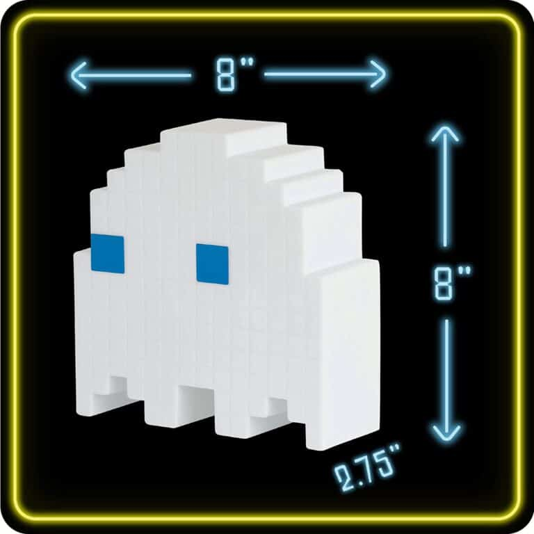 Paladone Pac-Man Ghost Light Dimensions