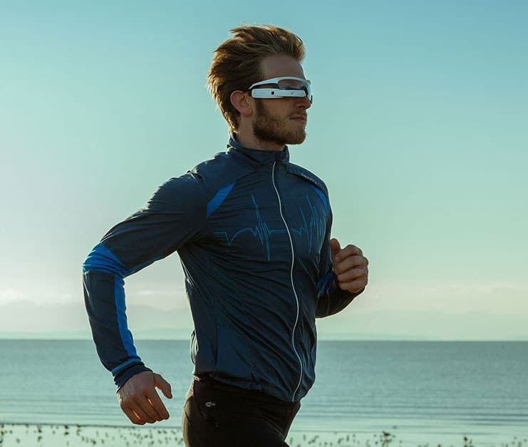 Recon Jet Smart Eyewear Athletic Sunglasses