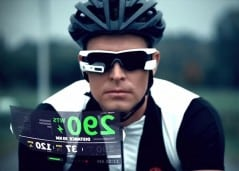 Smart eye wear for your active lifestyle.