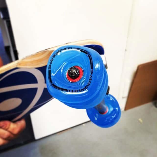 Shark Wheels Square Skateboard Wheels Blue