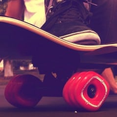 Square wheels for a better skateboard.