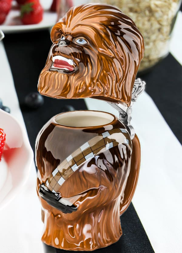 Star Wars Chewbacca Stein Geek Gift Idea