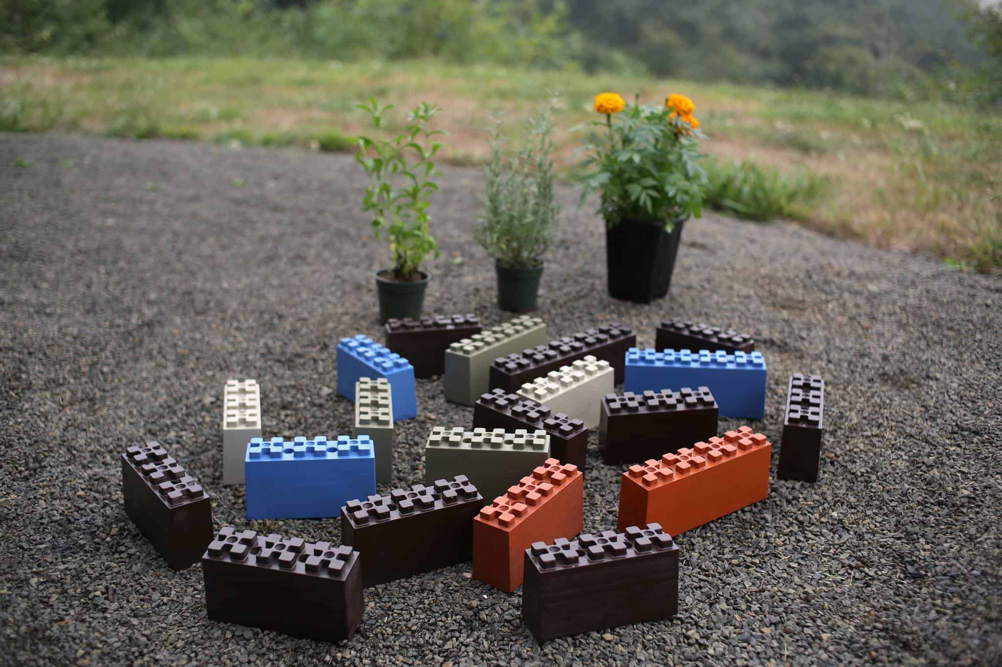 TogetherFarm Blocks Build Garden like Lego