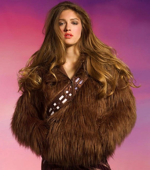We Love Fine I Am Furry Chewbacca Hoodie Geek Girlfriend Gift Idea