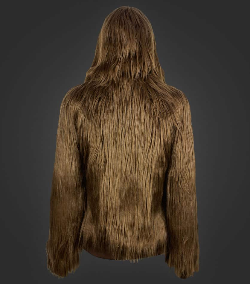 We Love Fine I Am Furry Chewbacca Hoodie Hairy Fashion