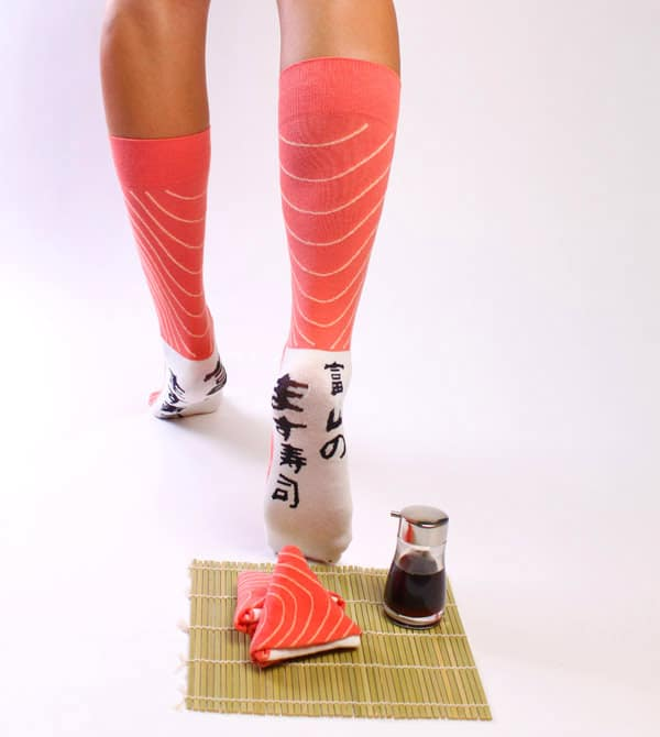 Artisan Socks Sushi Socks Weird Japanese Fashion