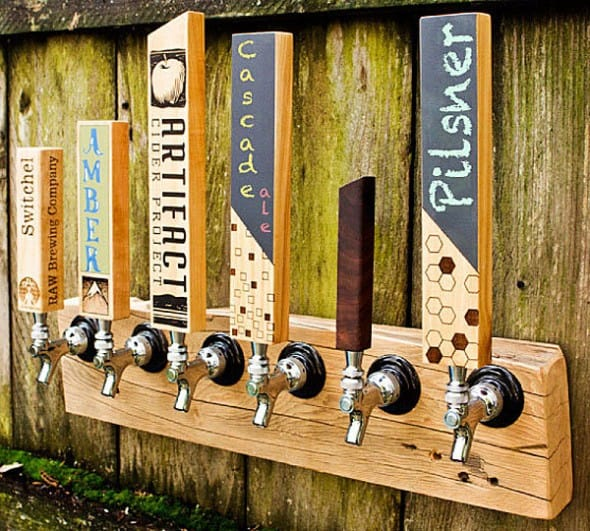 Personalize your beer tap.