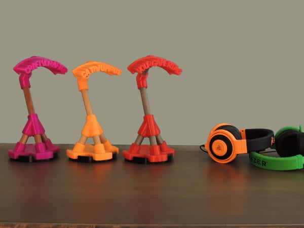 Crafty Drafter Gamer Tag Headphone Stand Unique Design