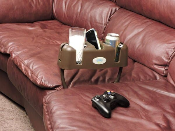 Cupsy Sofa and Couch Beverage Organizer Living Room Accessory