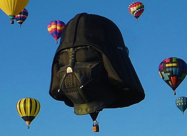 Darth Vader Balloon Funny Thing to See