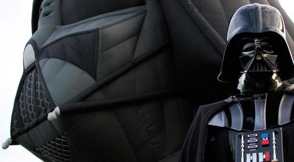 Darth Vader Balloon Promo