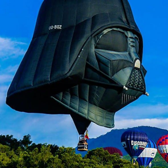 Darth Vader Balloon Weird Stuff On the Web