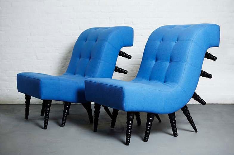Duffy London Milli Chair Multiple legs