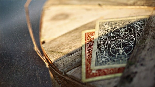 Ellusionist Vintage Bicycle 1800 Marked Playing Cards Back Art