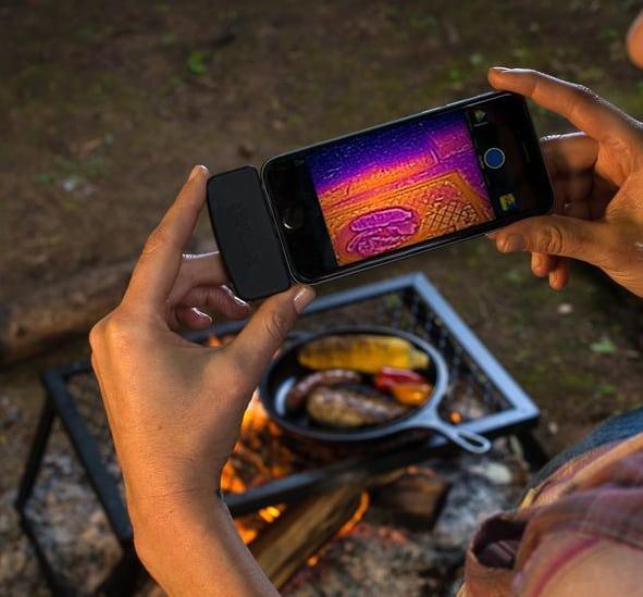 FLIR One Thermal Imaging Equipment Camping