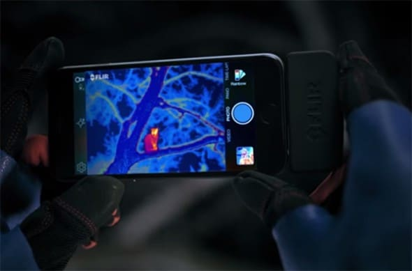 FLIR One Thermal Imaging Equipment Cat