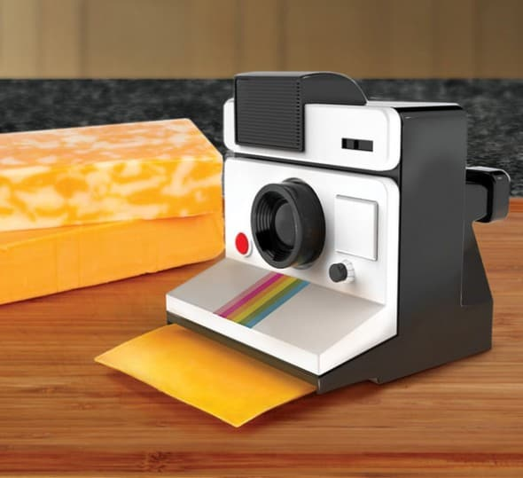 Gamago Say Cheese Instant Cheese Slicer Novelty Kitchten Gadget