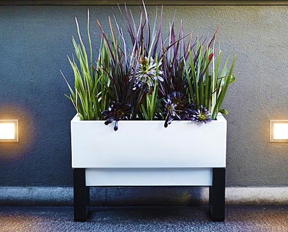 Glow Pear Urban Garden Self Watering Planter Minimalist Design
