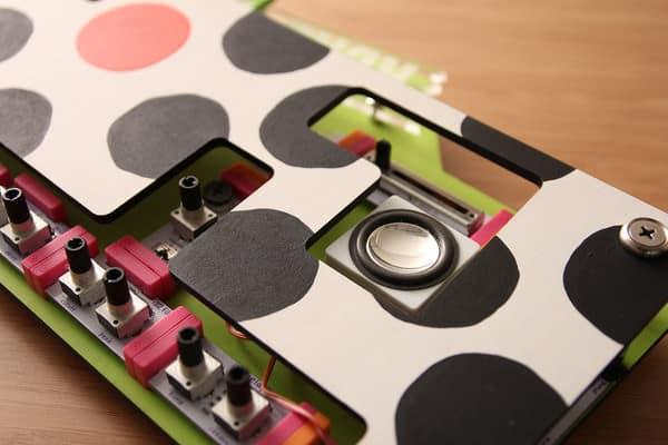 Little Bits Keytar Ver PANTOGRAPH Cow Paint Finish