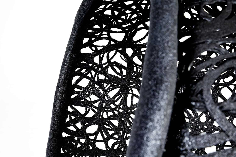 Maffam Manu Nest Compact Hanging Chair Weave Detail