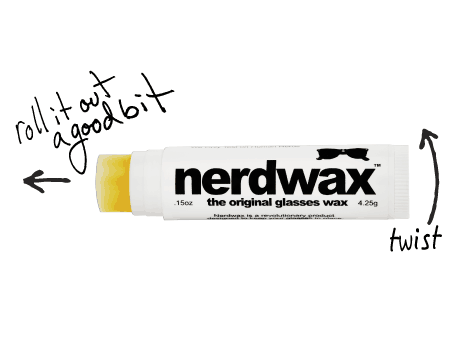 Nerdwax Original Glasses Wax Ingenious Product to Buy