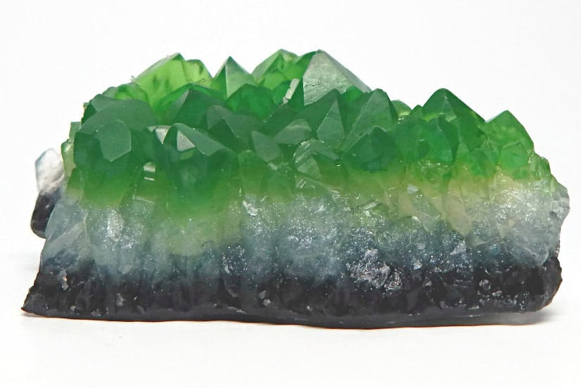 Rock Hound Soap Green Emerald Crystal Soap